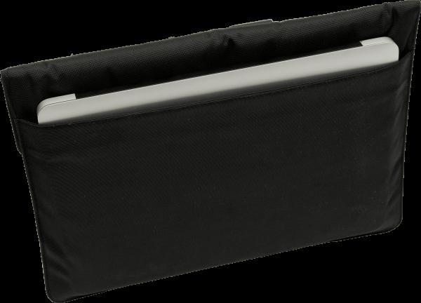 eWall Laptoptasche classic schwarz