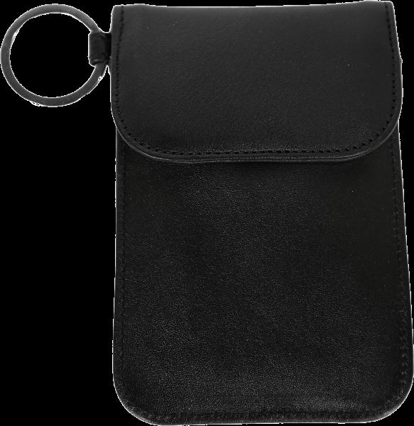 "eWall ""Keyless-Go"" anti-theft leather-wallet"